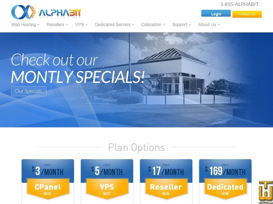 alphabit.com Screenshot