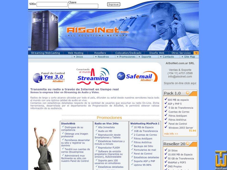 alsolnet.com Screenshot