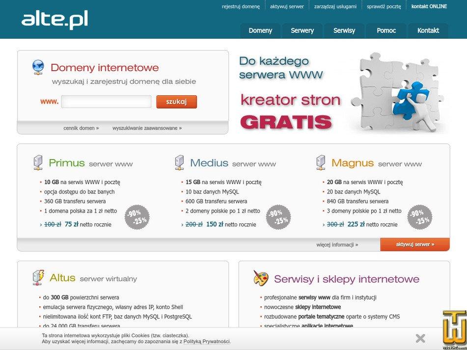alte.pl Screenshot