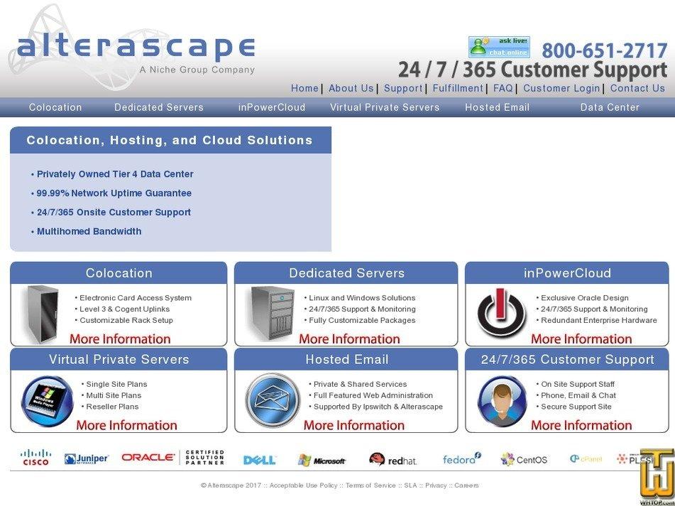 alterascape.com Screenshot