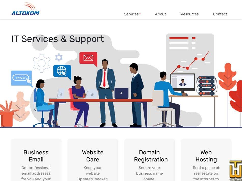 altokom.com Screenshot