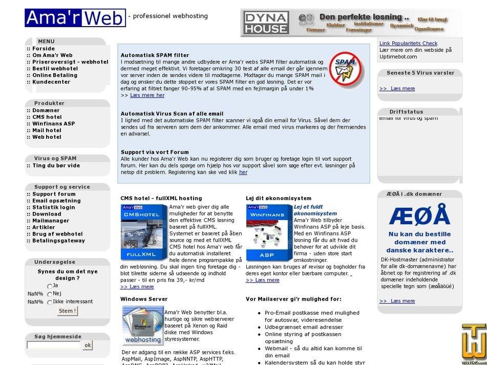 amagerweb.dk Screenshot