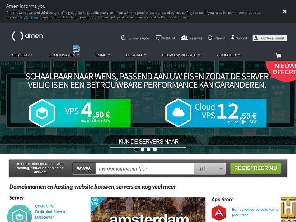 amenworld.nl screenshot