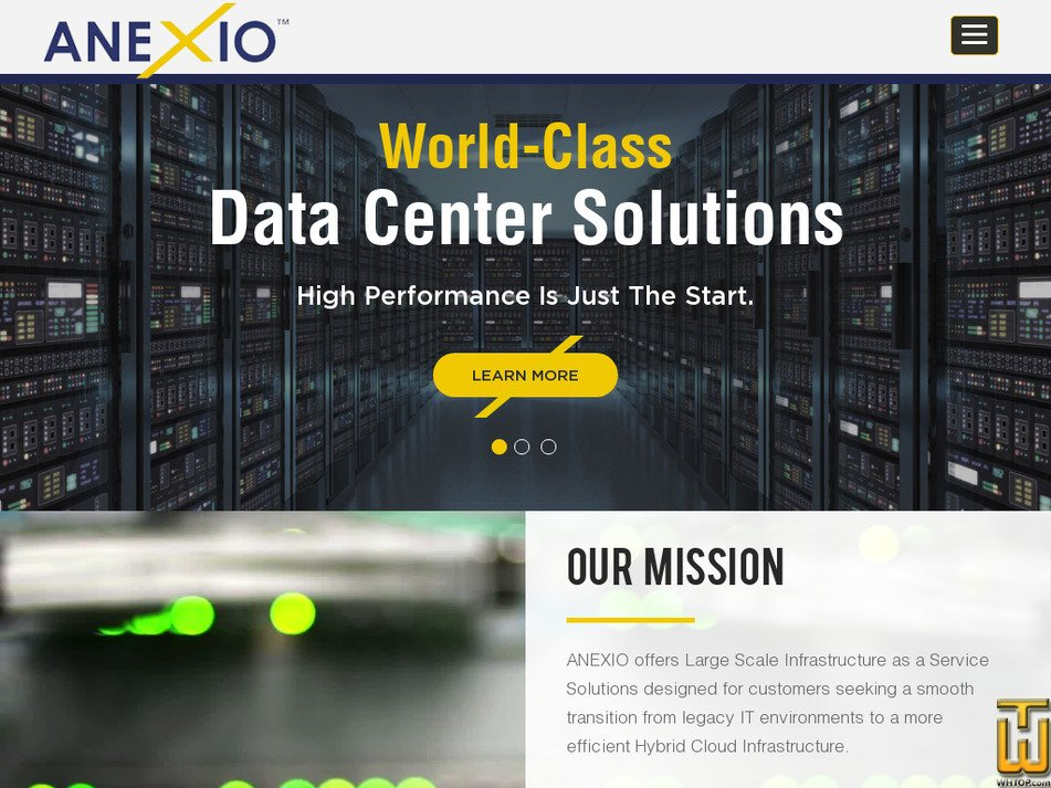 anexio.com Screenshot