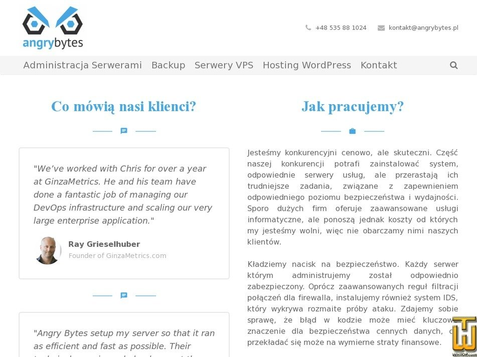 angrybytes.pl Screenshot