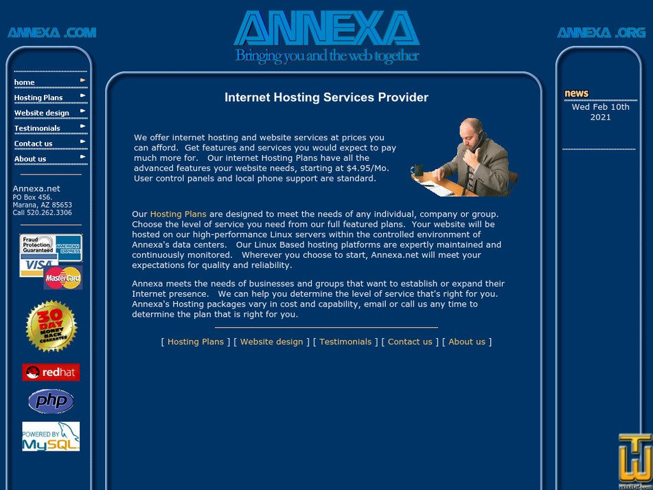 annexa.net Screenshot