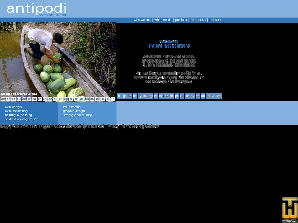 antipodi.com Screenshot