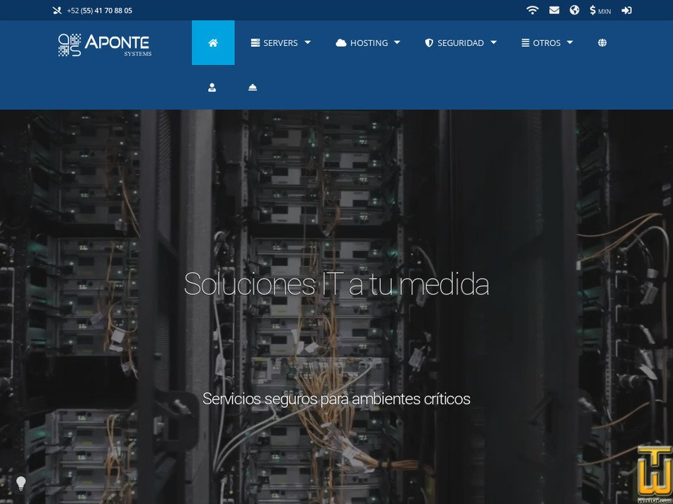 aponte-systems.com Screenshot