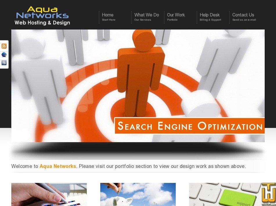 aquanetworks.com Screenshot