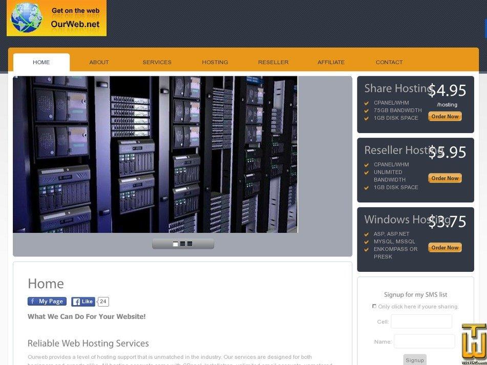 arbershosting.com Screenshot