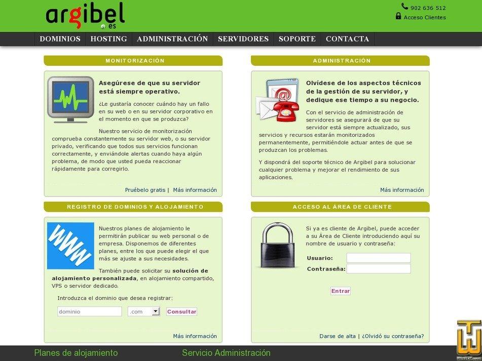 argibel.es Screenshot