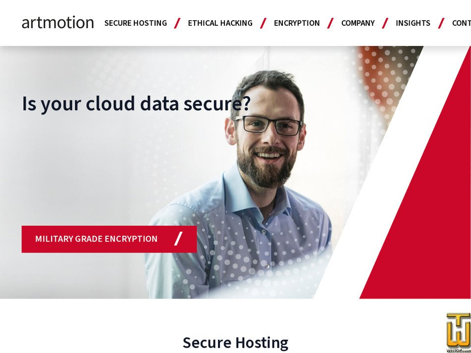 artmotion.eu Screenshot