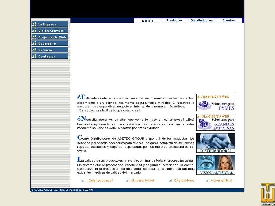 asetecgroup.com Screenshot
