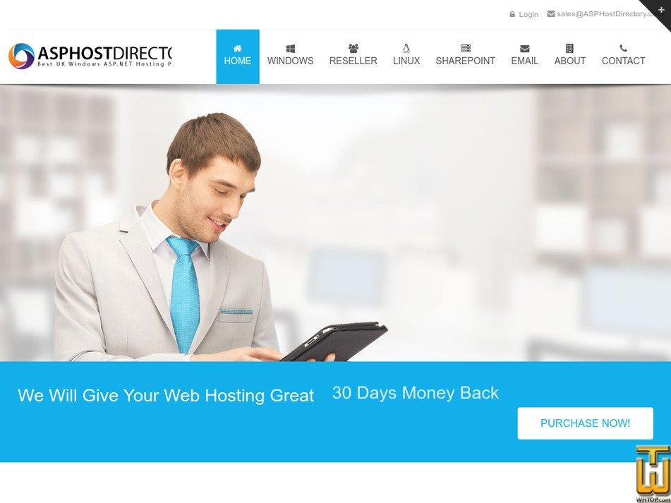 asphostdirectory.com Screenshot