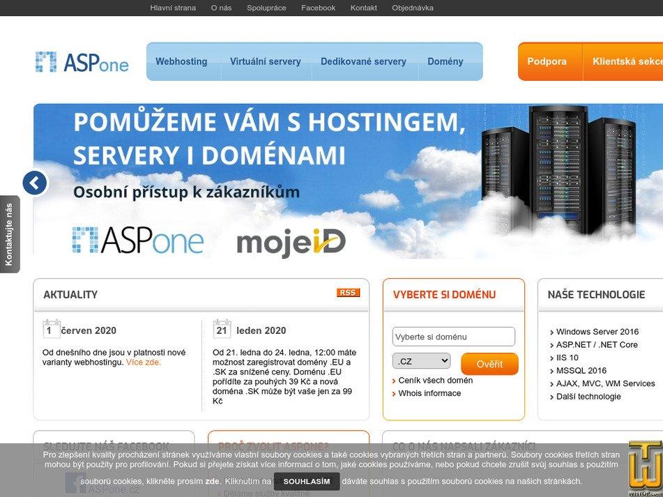 aspone.cz screenshot