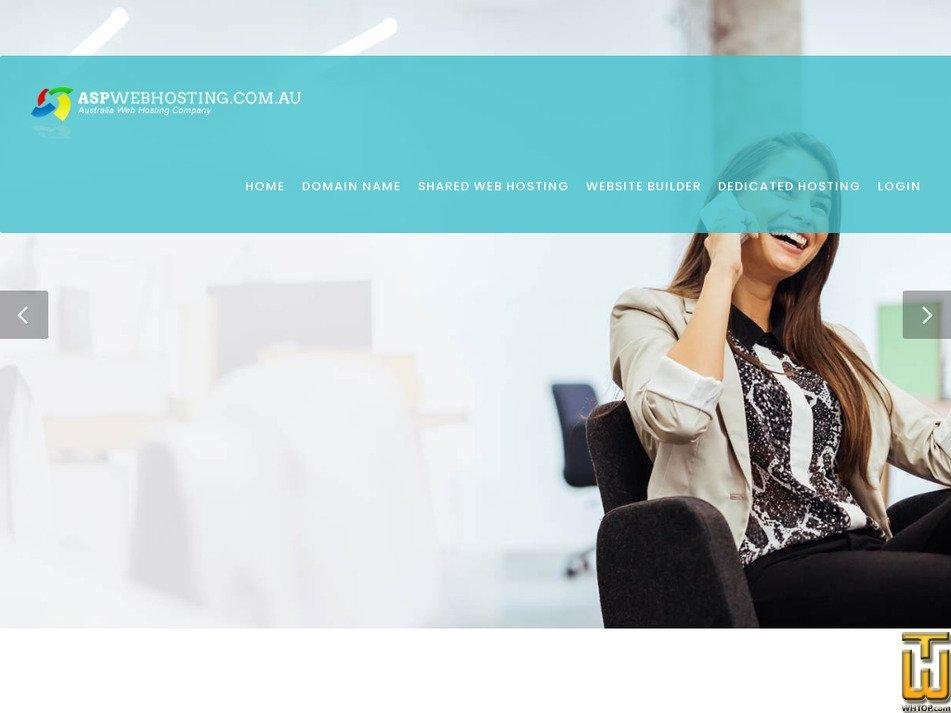 aspwebhosting.com.au Screenshot