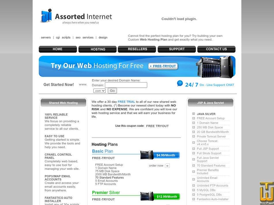 assortedinternet.com Screenshot