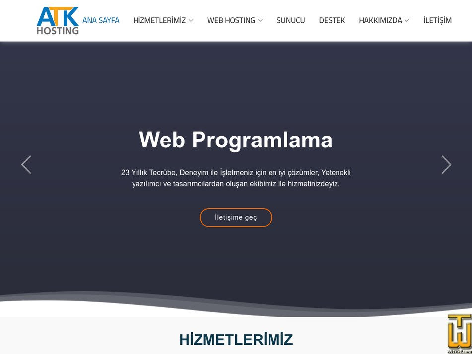 atkhosting.com Screenshot