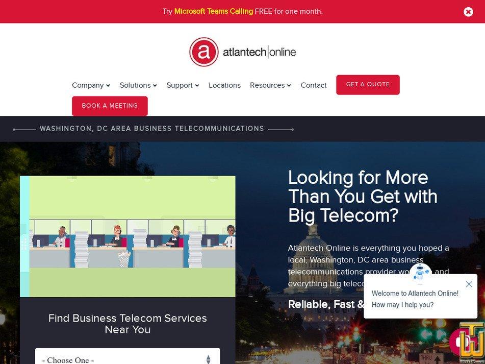 atlantech.net screenshot