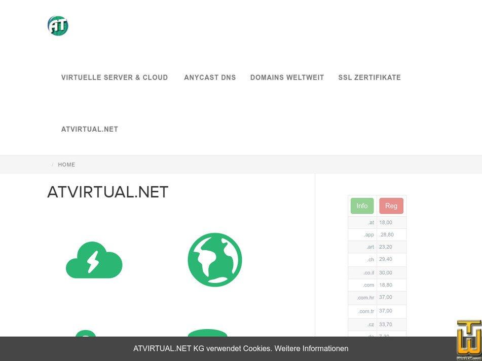 atvirtual.eu Screenshot
