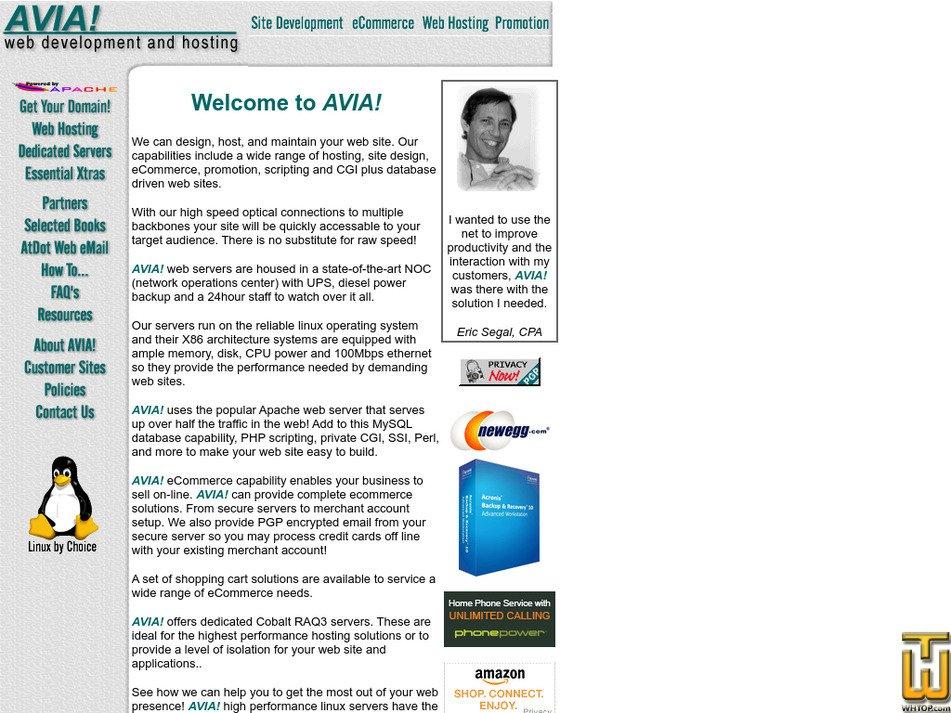 aviaweb.net Screenshot