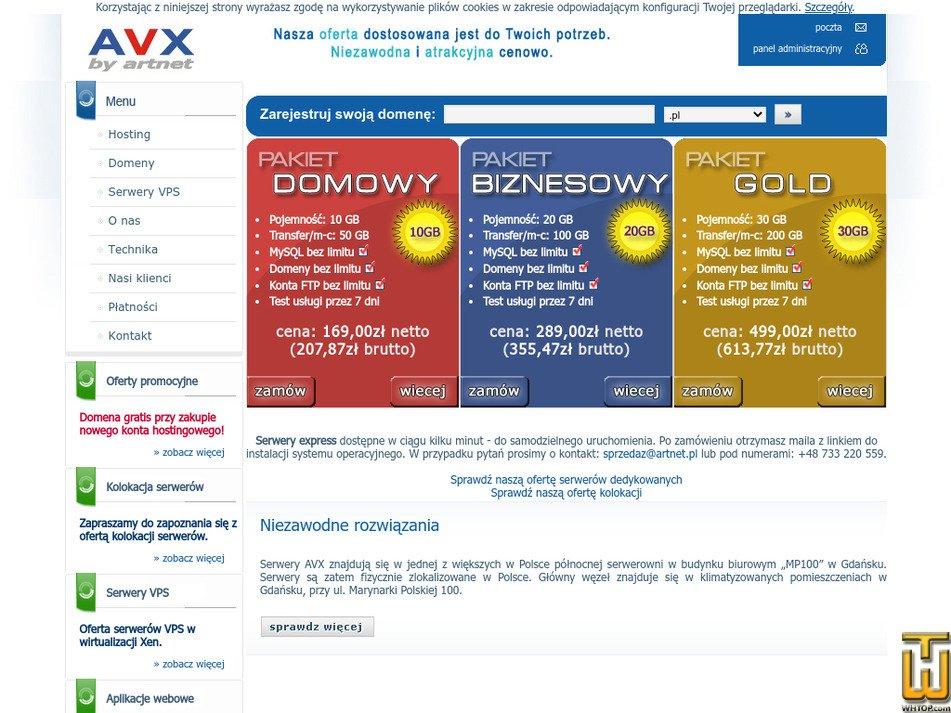 avx.pl Screenshot