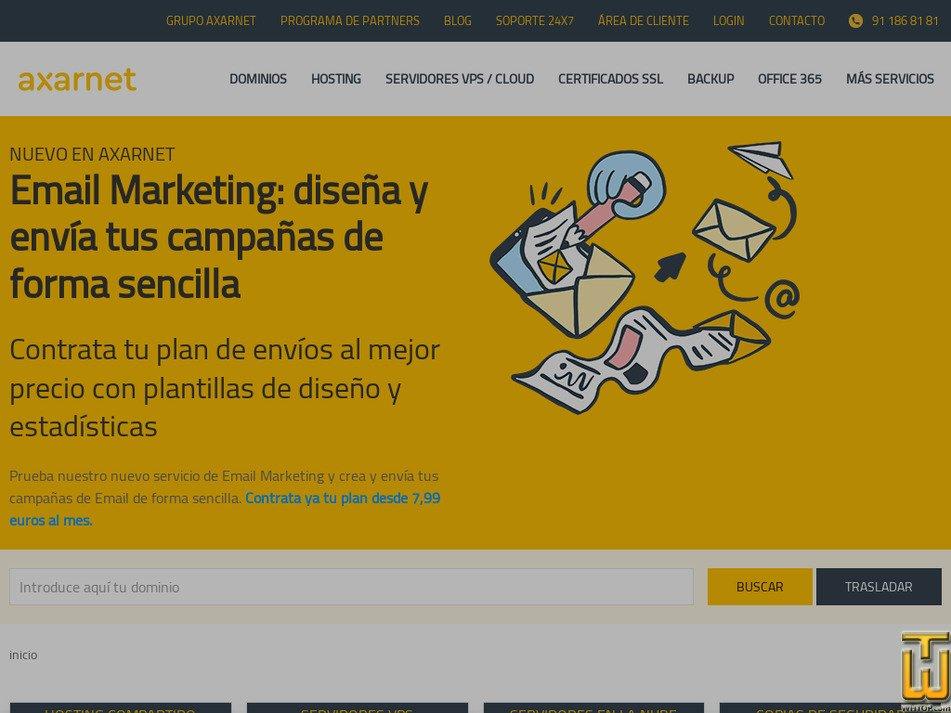 axarnet.es Screenshot