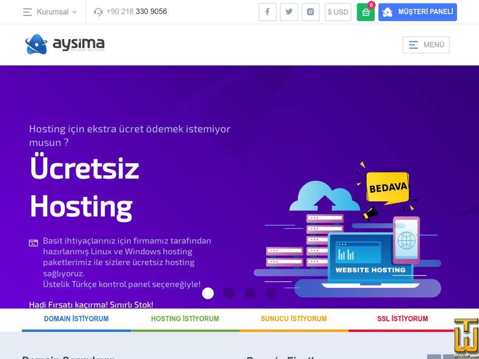 aysima.com Screenshot