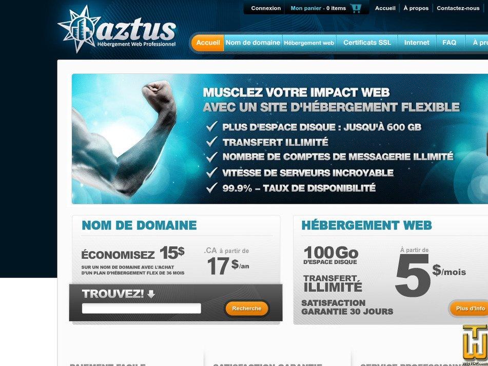 aztus.com Screenshot