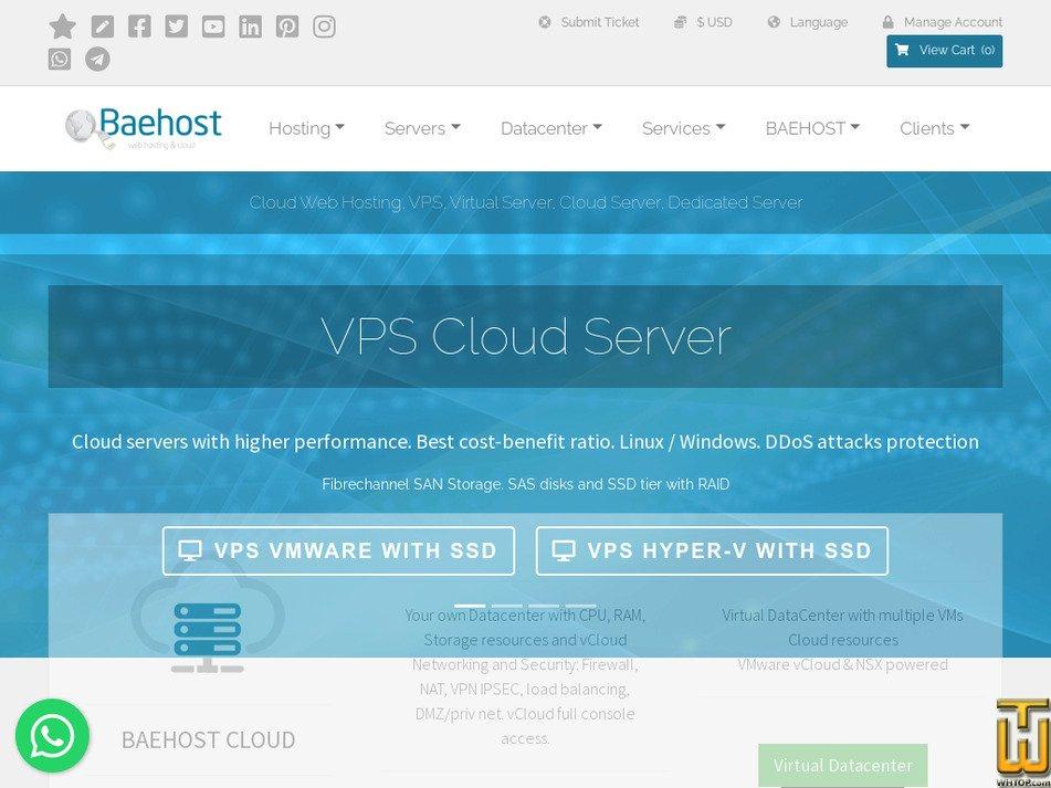 baehost.com Screenshot