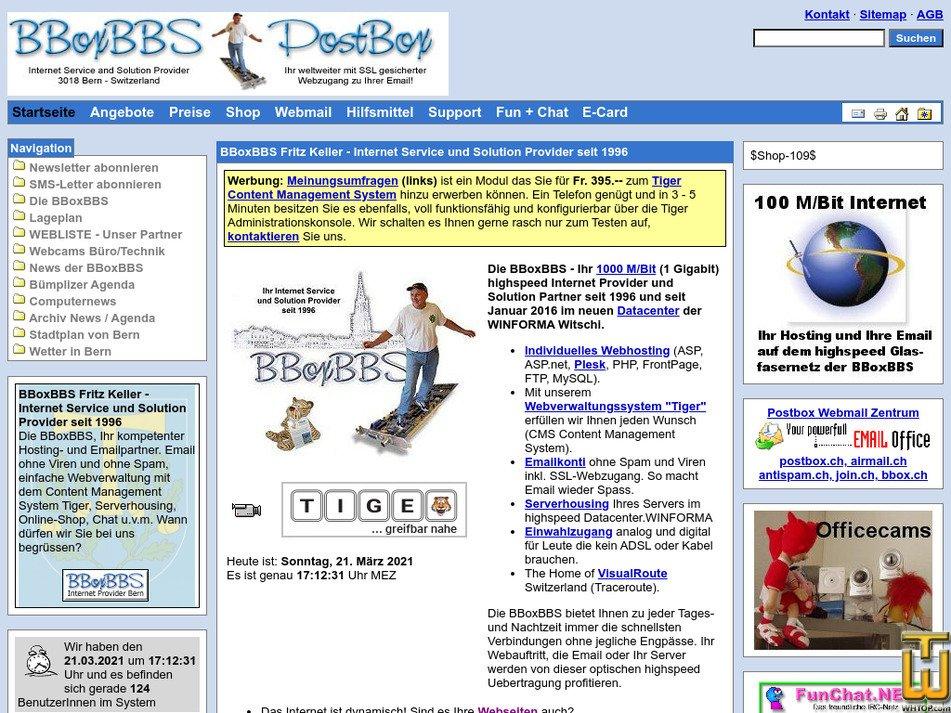 bbox.ch Screenshot