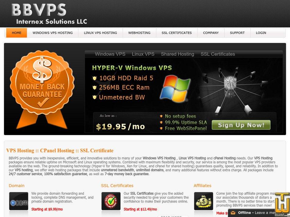 bbvps.com Screenshot