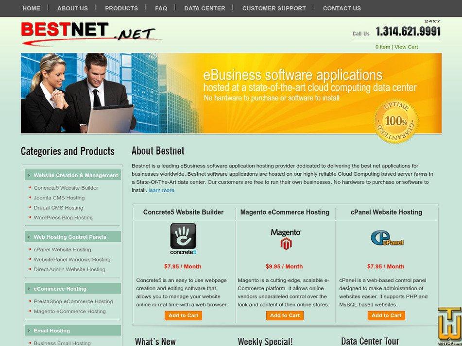 bestnet.net Screenshot