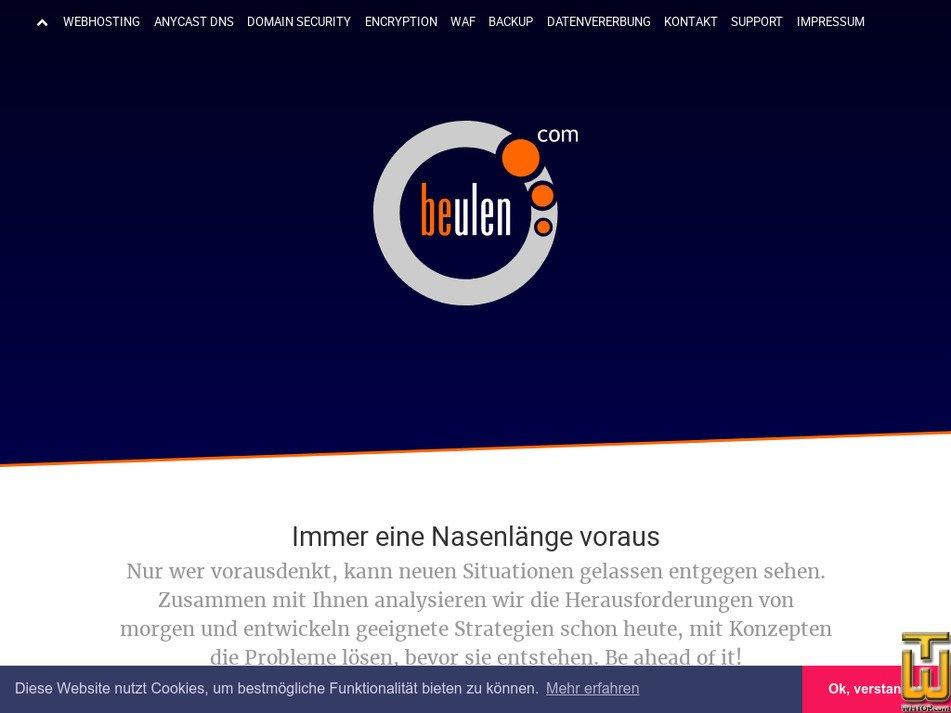 beulen.com Screenshot
