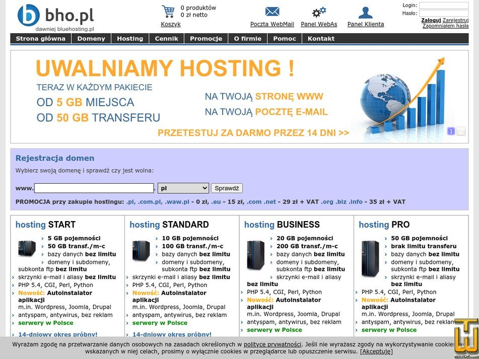 bho.pl Screenshot