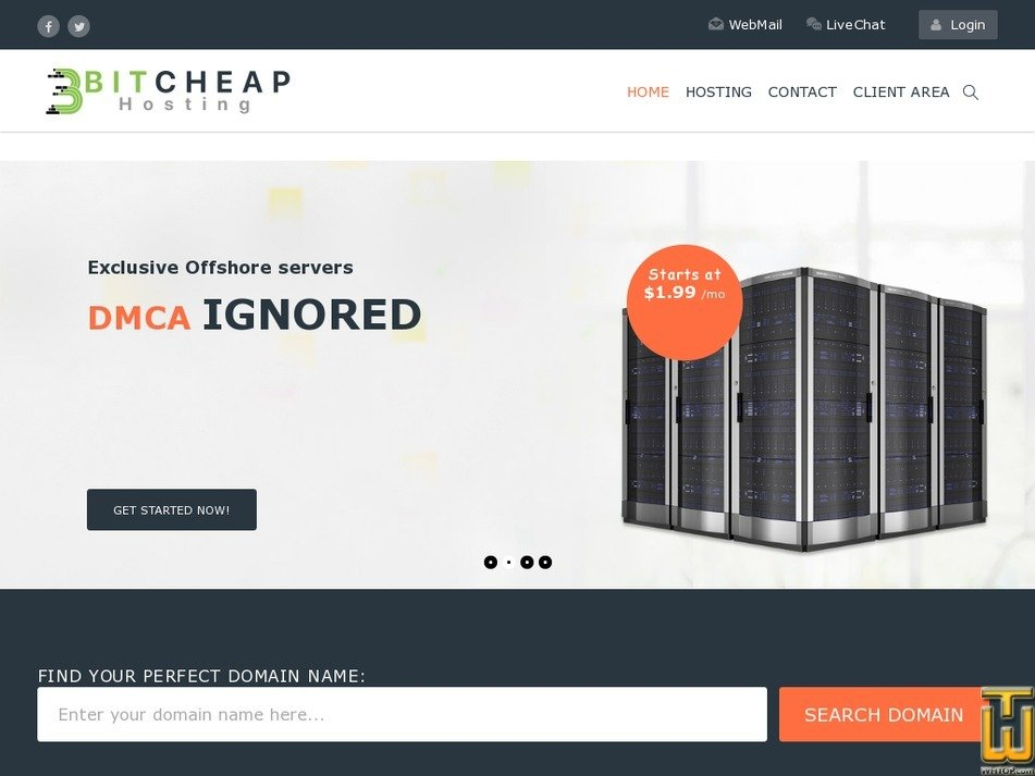 BITCHEAPHost Review 2019 - ratings by 1 user  Avg  Rank 10/10