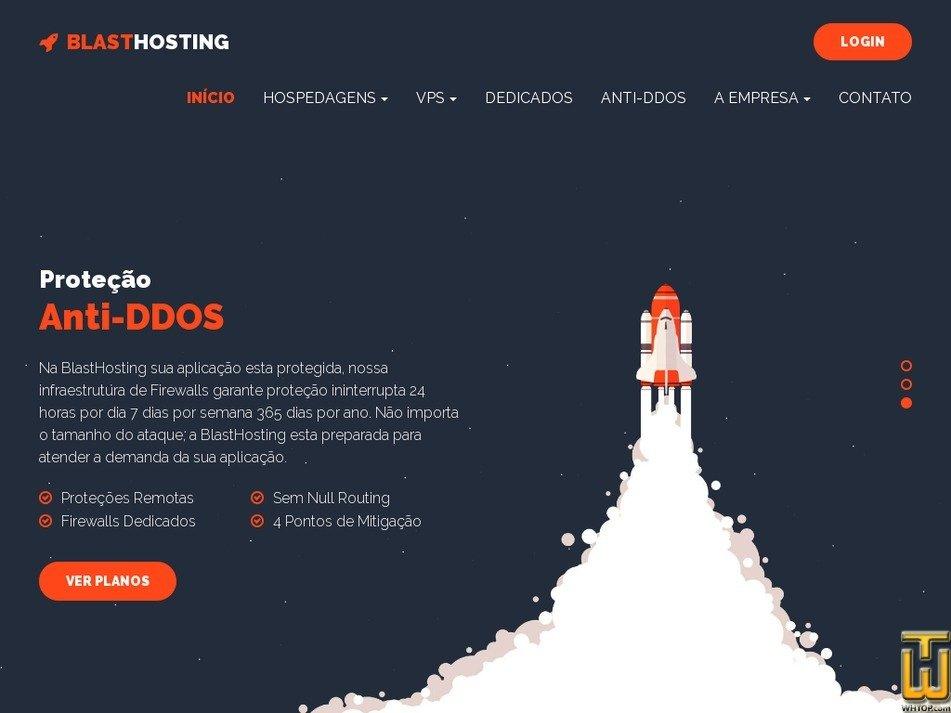 blasthosting.com.br Screenshot