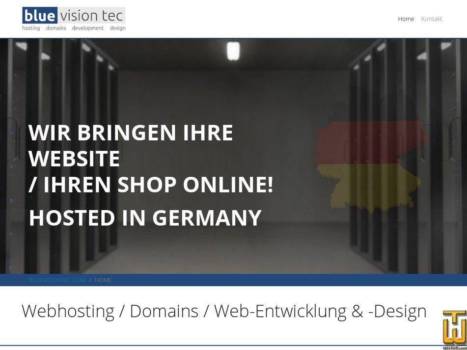 bluevisiontec.com Screenshot