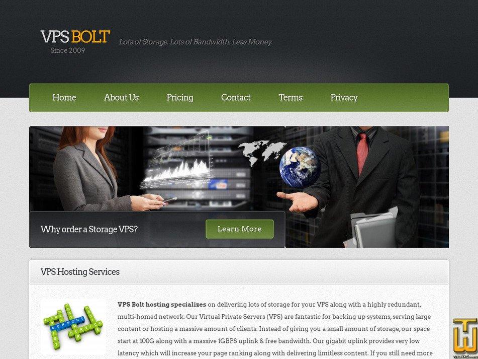 bolthosting.co.uk Screenshot