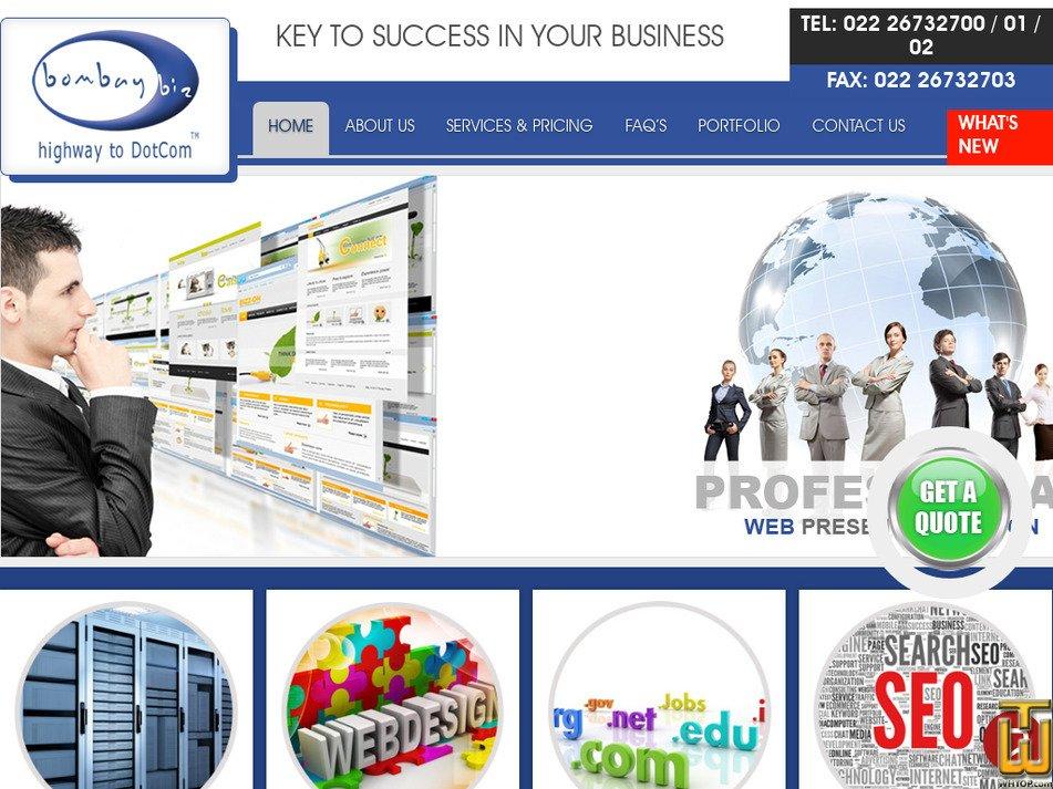bombaybiz.com Screenshot