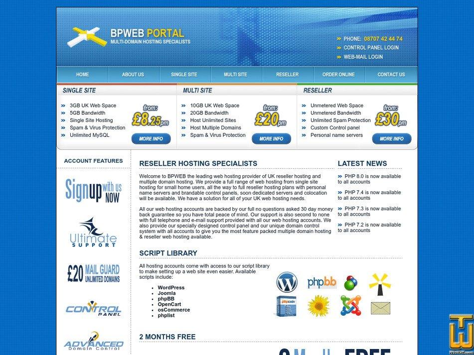 bpweb.net Screenshot
