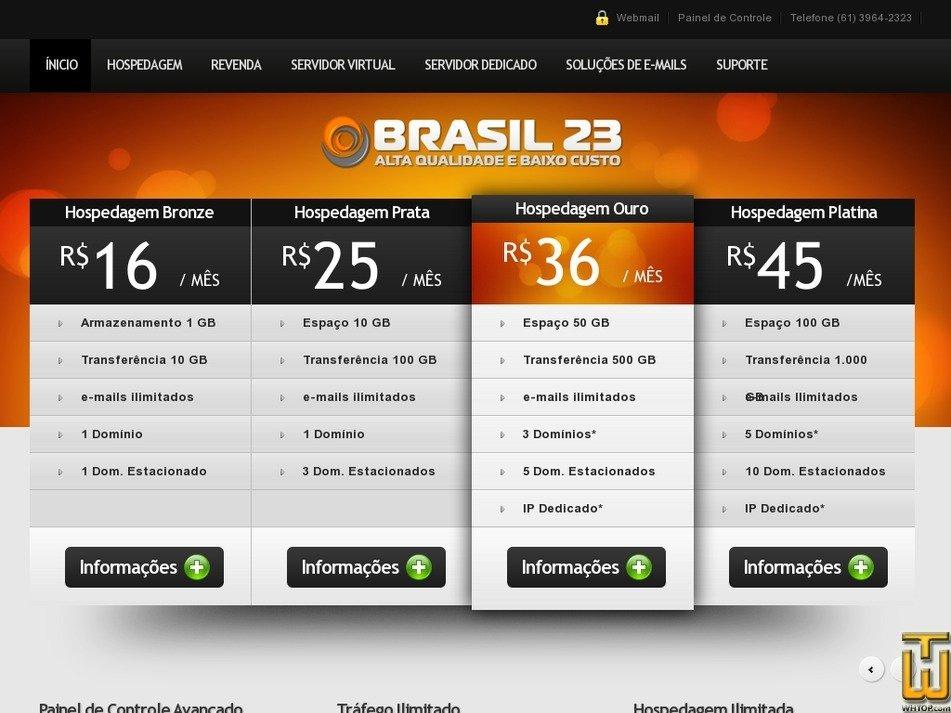 brasil23.com.br Screenshot
