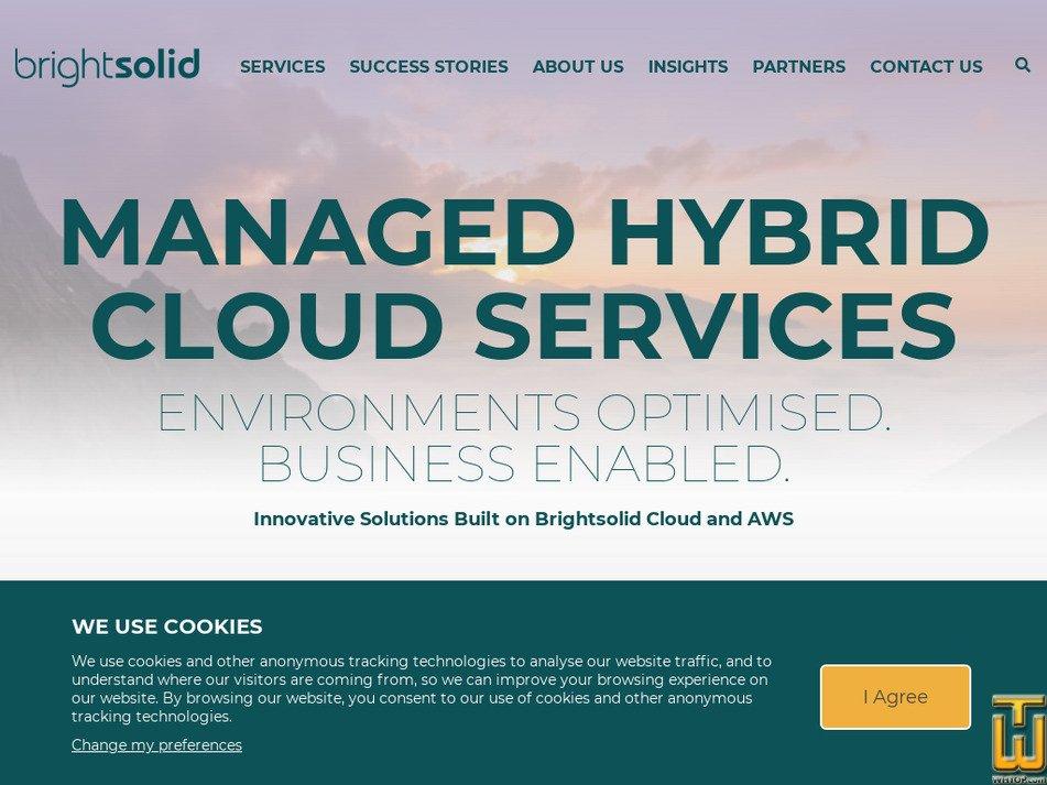 brightsolid.com Screenshot