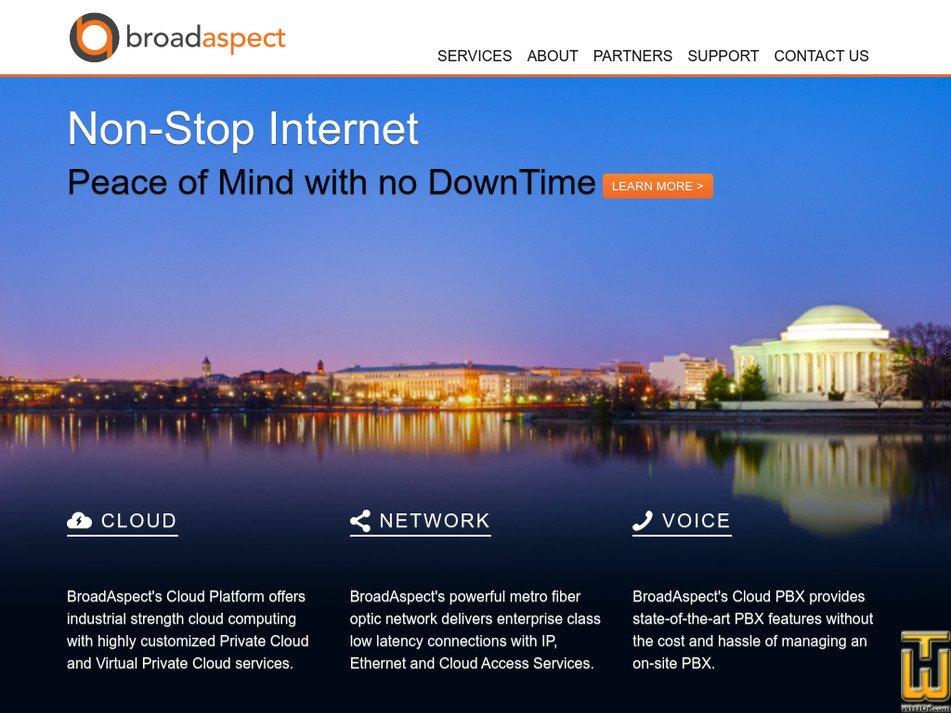 broadaspect.com Screenshot