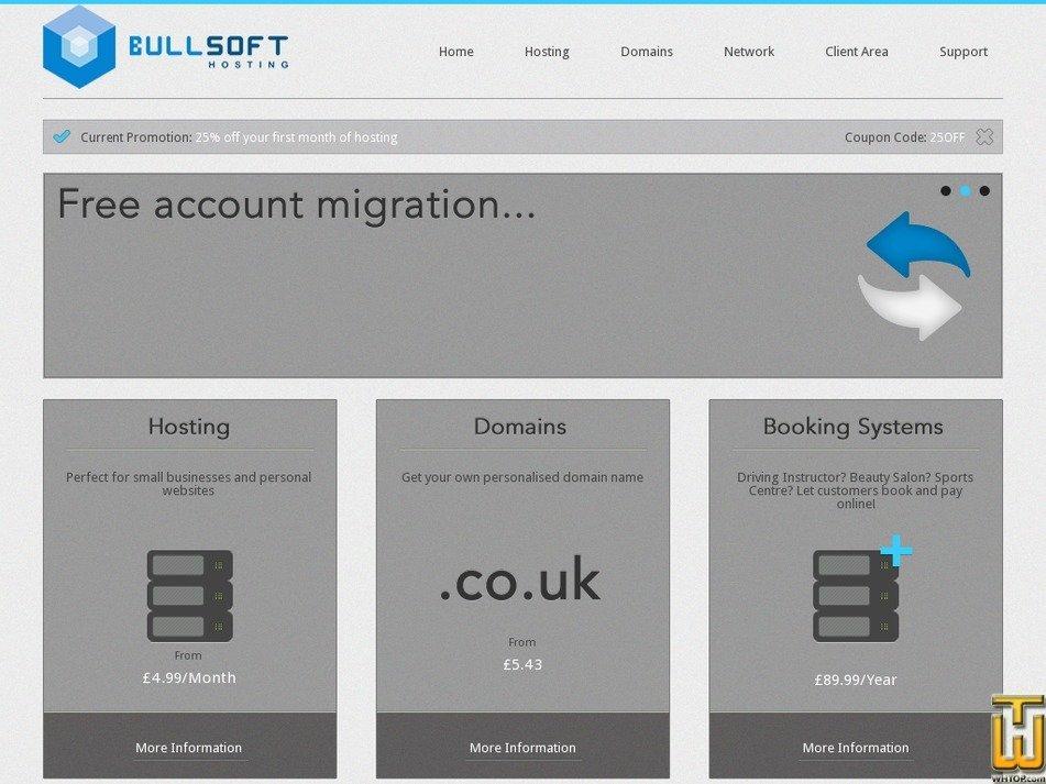 bullsofthosting.co.uk Screenshot