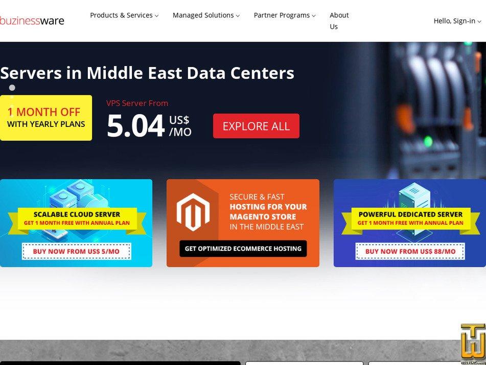 buzinessware.com screenshot