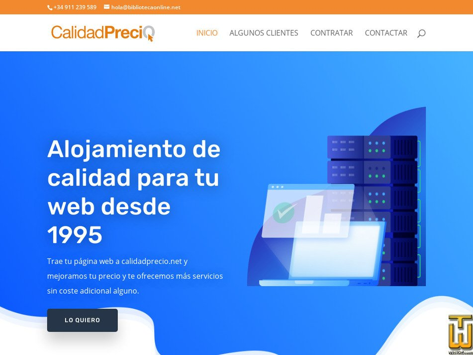 calidadprecio.net Screenshot