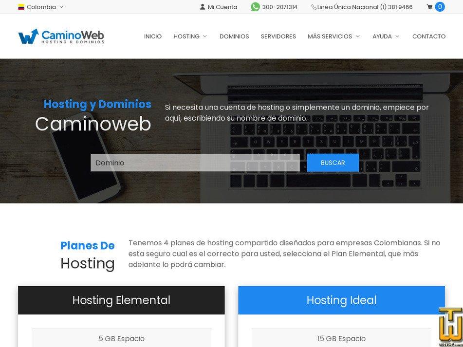 caminoweb.com Screenshot