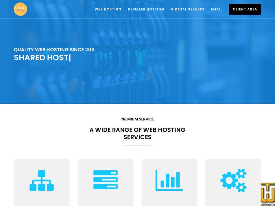 carmenhost.com Screenshot