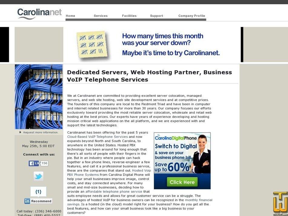 carolinanet.com Screenshot